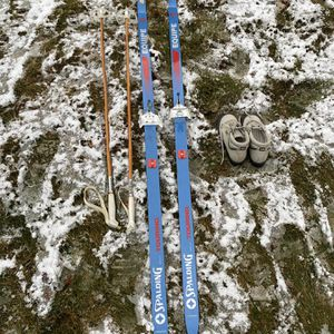 Cross Country Skis with Poles and Boots (size 7-W) for Sale in Rochester, MI