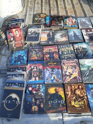 Different DVDs All Genres $55 All In Working Condition for Sale in Inglewood, CA
