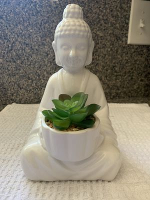 Buddha faux succulent for Sale in Stansbury Park, UT