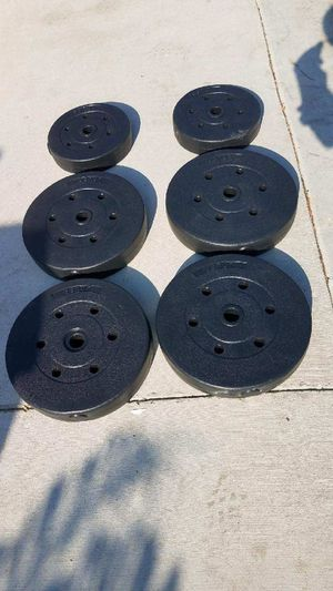 """100lbs Standard 1"""" weight set NEW for Sale in Montebello, CA"""
