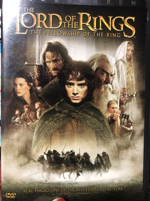 DVD/ the lord of the rings for Sale in Los Angeles, CA