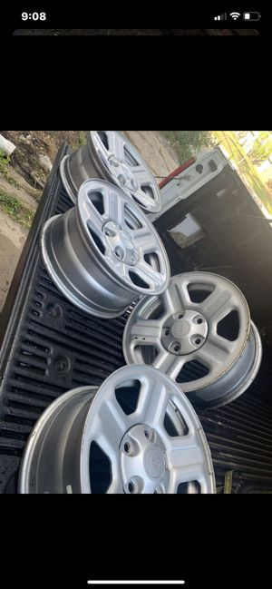 2007-2018 Jeep Wrangler Factory wheel bolt pattern (5-127) offset (44) 16x7 for Sale in Baltimore, MD