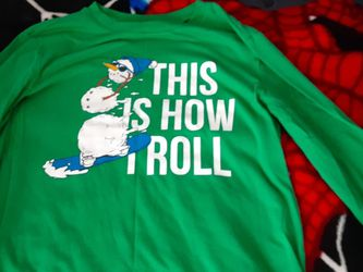 Boys Shirt Snow Man Size 10-12 for Sale in Springfield,  VA