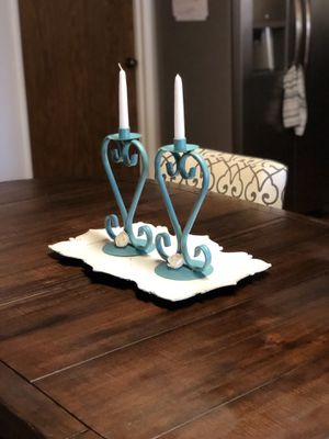 Home decor. Cute heart shaped candle holders for Sale in Fresno, CA