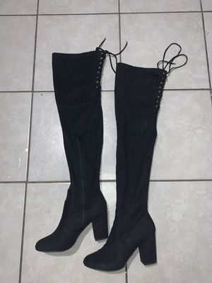 Celia thigh high boots size 8 for Sale in Covina, CA