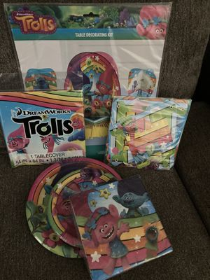 Trolls party set for Sale in Claremont, CA