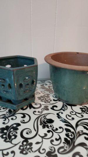 Ceramic Flower Pots for Sale in Rosenberg, TX