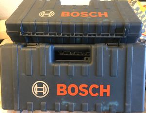 Bosch Rotary Hammer Tool Box for Sale in Phoenix, AZ