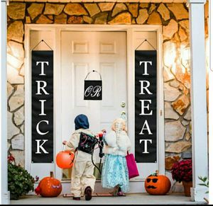 3PC Trick or Treat Hanging Banners, Halloween Decorations 72 X 14 Inch for Sale in Arlington, TX