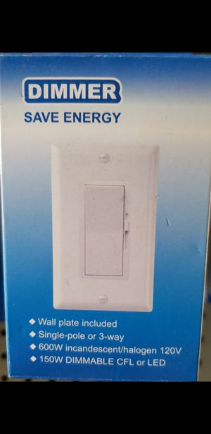 Dimmer switch for Sale in Bakersfield, CA