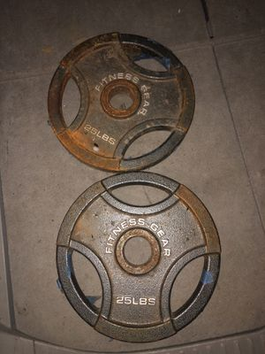 Olympic weight plates for Sale in Arden-Arcade, CA