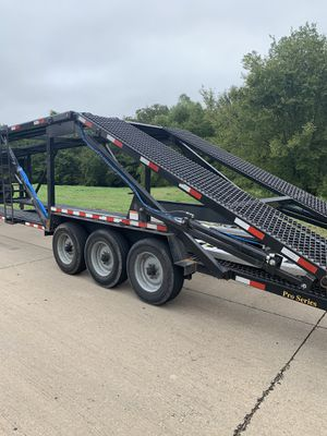 2019 5 car hauler trailer for Sale in Dallas, TX