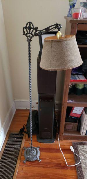 Antique iron floor lamp for Sale in Boyce, VA