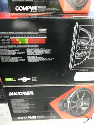 "New KICKER CVR 15"" Subwoofer Set for Sale in Houston, TX"