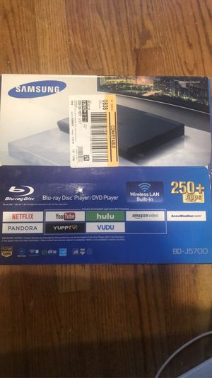 Samsung blu ray/dvd player for Sale in Chicago, IL