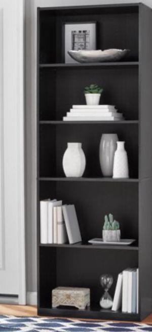 "New!! Bookcase, bookshelves, organizer, storage unit, 71"" 5 shelf bookcase, living room furniture, entrance furniture, shelving display for Sale in Phoenix, AZ"