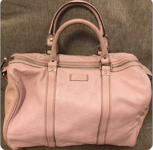 Gucci Guccissima GG Boston Bag in Pink for Sale in Gilbertsville, PA