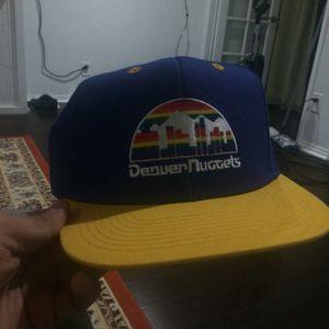 Denver Nuggets SnapBack Adjustable Hat Retro Style for Sale in Los Angeles, CA