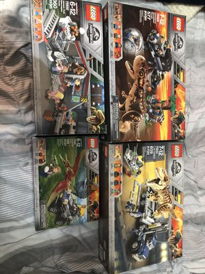 Lego Jurassic World for Sale in Fort Wayne, IN