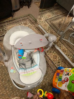 Used, Baby bouncer an rocker for Sale for sale  Brooklyn, NY