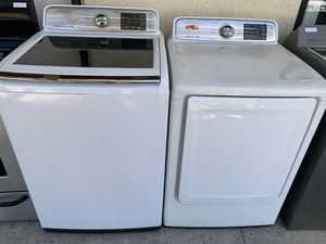 Samsung washer and dryer set (220v) for Sale in Corona, CA