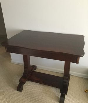Antique library desk for Sale in West McLean, VA