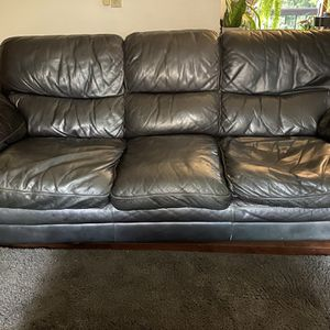 Leather Couch, Loveseat And Chair For Sale for Sale in Oregon City, OR