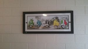 Fully Framed Scooter Painting for Sale in Durham, NC