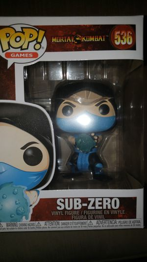 Funko Pop Mortal Kombat Subzero for Sale in Chicago, IL