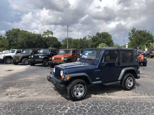 2002 Jeep Wrangler only 32k miles Auto clean for Sale in Tampa, FL