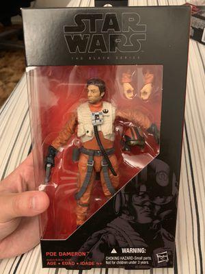 Star Wars Black Series Poe Dameron Figure for Sale in Fresno, CA
