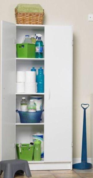 New!! Cabinet, armoire, white pantry cabinet, organizer, storage unit, laundry cabinet, kitchen cabinet, white for Sale in Phoenix, AZ