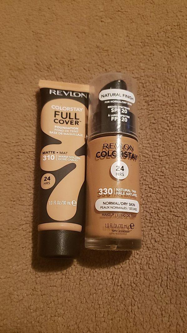 Revlon ColorStay Full Cover Matte Foundation &Revlon Colorstay Makeup Foundation