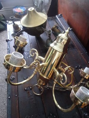 Brass chandelier for Sale in Cleveland, OH