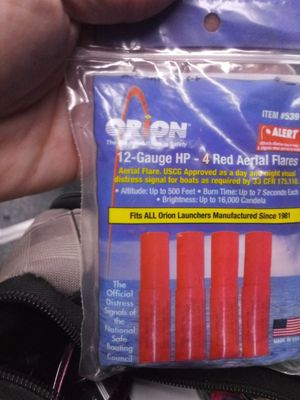 ORION 12 - GAGE AERIAL FLARES for Sale in Springfield, OR
