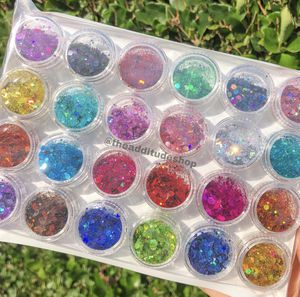 24 nails and makeup raw glitters for Sale in San Jose, CA