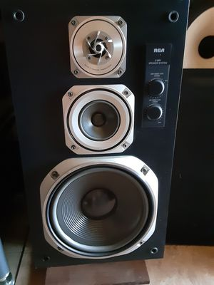 High end RCA spk 380t three way amazing sounding speakers rare for Sale in Irwindale, CA