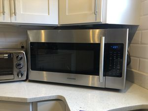 Samsung over the range microwave for Sale in Rockville, MD