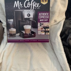 NEW Mr. Coffee Easy Espresso And Cappuccino Maker With Milk Frother for Sale in Laurel, MD