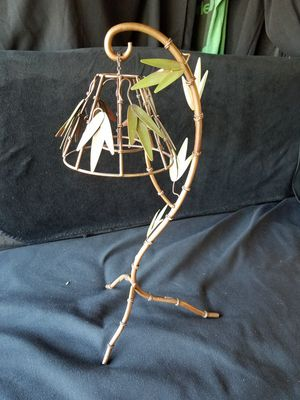 Palm tree iron candle holder for Sale in Riverside, CA