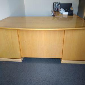 Wooden 2 Piece Office Desk for Sale in Anaheim, CA