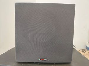 """Polk Audio PSW10 10"""" Powered Subwoofer - Power Port Technology, Up to 100 Watts, Big Bass in Compact Design, Easy Setup with Home Theater Systems for Sale in Las Vegas, NV"""