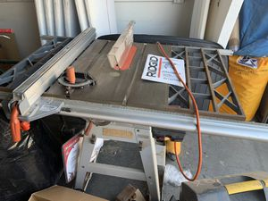 Rigid Table Saw MADE IN USA TS2424 0 for Sale in San Clemente, CA