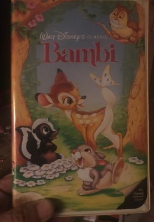 "Bambi ""the originals "" version. Still has the booklet and advertisements it came with for Sale in Boynton Beach, FL"