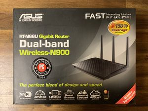 MOVING SALE: ASUS GB Router RT-N66U N900 for Sale in San Francisco, CA