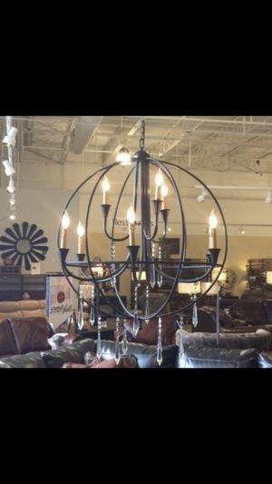 Large Beautiful Chandelier - Like New for Sale in Bethel Park, PA