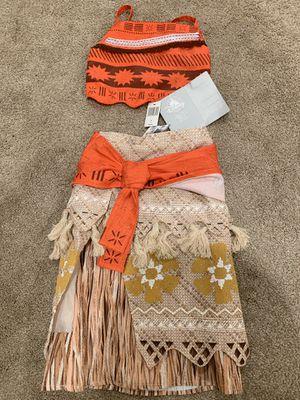 Brand new size 4 Moana costume for Sale in Kirkland, WA