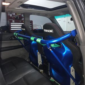 "47"" NRG 4 Point Harness Bar Metallic Blue NEW Civic Prelude RX7 FC3S Mazda RSX Paseo Tercel for Sale in San Marcos, CA"
