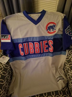 JAVIER BAEZ CHICAGO CUBS PLAYERS WEEKEND LITTLE LEAGUE CLASSIC JERSEY LG for Sale in Chicago, IL