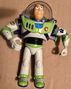 Original 1995 Toy Story Talking BUZZ LIGHTYEAR Figure from Thinkway for Sale in Middleburg, FL